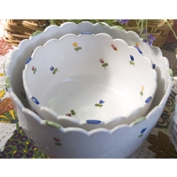 Faienceries d'Art de Malicorne Small Salad Bowl