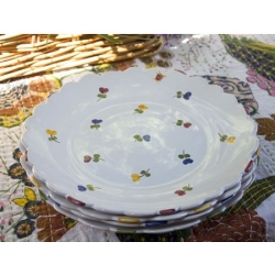Faienceries d'Art de Malicorne Mille Fleurs Dinner Plate - 1 available