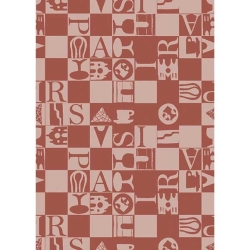 Bistrot Rouge Kitchen Towel -Retired