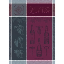 Le Vin Syrah Kitchen Towel - 100% Cotton