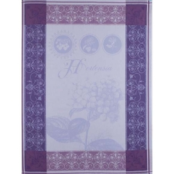 Hortensia Bleu Kitchen Towel - 100% Cotton