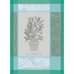 Menthe Glace Kitchen Towel Retired