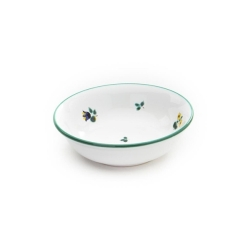 Alpine Flowers Compote Dish