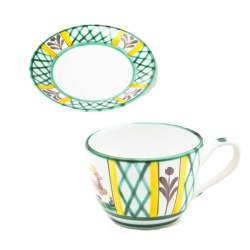 Hunter's Delight Classic Coffee Cup  and  Saucer