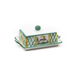 Hunter's Delight Butter Dish 9 oz