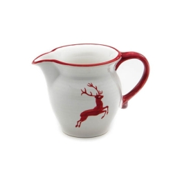 Ruby Red Deer Creamer 10 oz