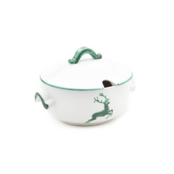 Green Deer Soup Tureen