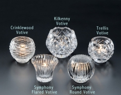 Heritage Glass Symphony Flared Votive