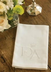 Downton Napkins White