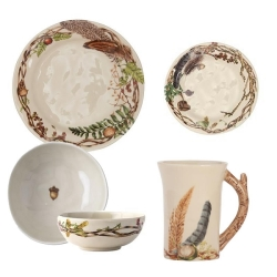 Forest Walk 4 Piece Place Setting