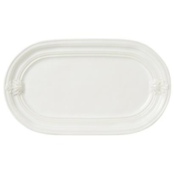 Acanthus Hostess Tray Whitewash