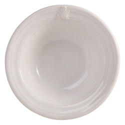 Acanthus White Cereal Bowl