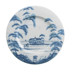 Country Estate Delft Blue Side Plate Stable