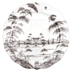 Country Estate Flint Charger/Server Plate Main House