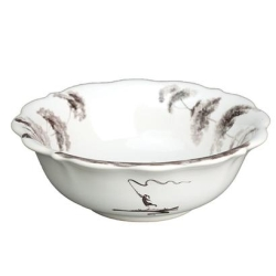 Country Estate Flint Scalloped Berry Bowl