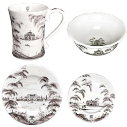 Country Estate Flint Place Setting set 4