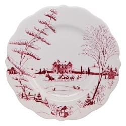 Country Estate Ruby Scallop Dinner Plate