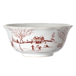 Country Estate Ruby Cereal/Ice Cream Bowl