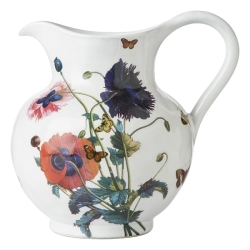 Field of Flowers Poppies Pitcher Retired