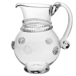 Isabella Sm Round Pitcher Clear