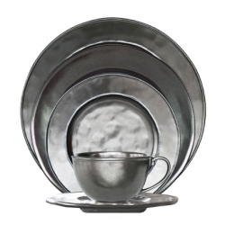Juliska Pewter Stoneware 5 Piece Place Setting