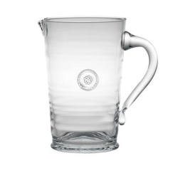 Berry & Thread Glassware Pitcher Clear