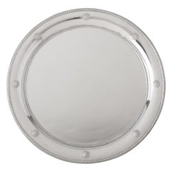 Berry & Thread Metalware Round Tray Bright Satin
