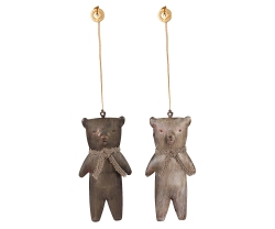 Metal Teddy Bear Ornament