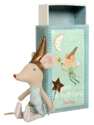 Tooth Fairy Boy Mouse in Box- old style- one left