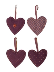 Heart Purple Assorted