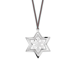 Rotating Star and Snowflake Ornament