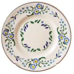 Forget Me Not Lunch Plate