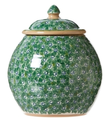 Green Lawn Cookie Jar
