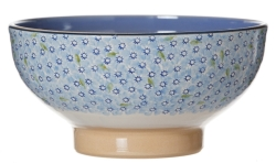 Light Blue Lawn Salad Bowl