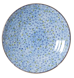 Light Blue Lawn Shallow Dish