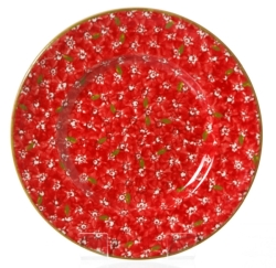 Red Lawn Lunch Plate- Retired 3 available