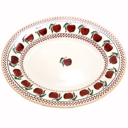 Apple Medium Oval Serving Dish-1 available