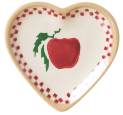 Apple Tiny Heart Plate