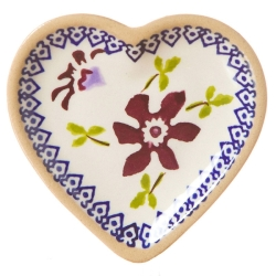 Clematis Tiny Heart Plate