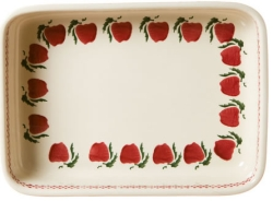 Apple Large Rectangular Oven Dish