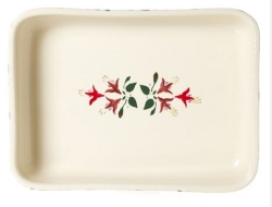 Fuchsia Large Rectangular Oven Dish