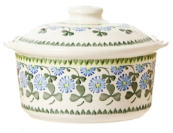 Clover Medium Lidded Casserole