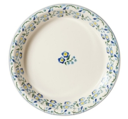 Forget Me Not  Classic Pie Dish