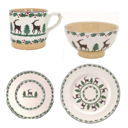 Reindeer 4 Piece Place Setting