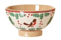 Winter Robin Tiny Bowl