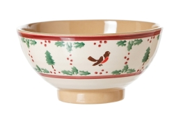 Winter Robin Vegetable Bowl