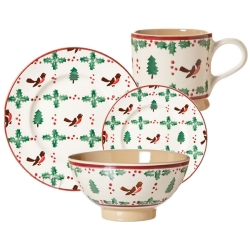 Winter Robin Place Setting