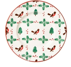 Winter Robin Lunch Plate