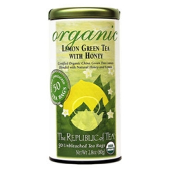 Organic Honey Lemon Green Tea