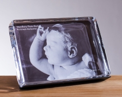 Woodbury Horizontal Photo Block In Gift Box - 4 X 6